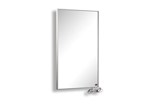 Hybrid Spiegel Infrarotheizung 1000 Watt inkl. weißem Rahmen mit TÜV und 5 Jahren Garantie