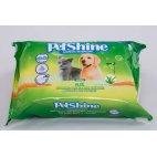 PetShine Salviettine Cane Gatto cucciolo Salviette Umidificate per Animali - Profumo aloe