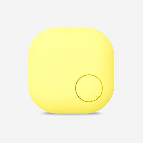 HZYYZH Key Finder, Mobile Finder Brieftasche Anti-Lost, Bluetooth Pet Locator Anti-Lost Erinnerung für Android und iOS,Yellow (Modelle Locator Store)