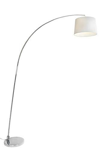 Aluminor Arc LS N Stehlampe Arc E27, 150 x 33 x 210cm Chrom -