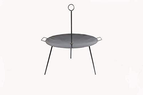 Grillpfanne Feuerschale Eisen 48cm Eisenpfanne