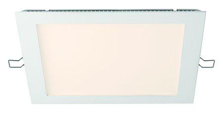 Preisvergleich Produktbild Wiva Lighting donwl. WL Inca s-sq Fixed 21 W WW weiß