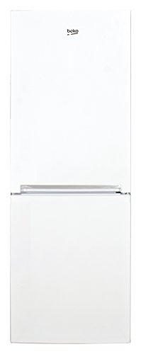 Beko RCSA210K20W Kühl-Gefrier-Kombinationen / A+ / 135,8 cm / 132 L Kühlteil / 65 L Gefrierteil / LED-Beleuchtung / 2 Gefrierschubladen und Eiswürfelschale / Abtauautomatik