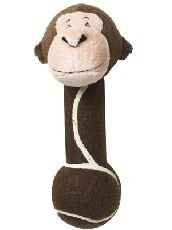 Image of Happy Puppy Maris The Monkey Tennis Ball Dog Toy