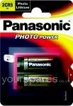 Panasonic 2CR52CR5M DL245 Lithium-Akku, für Kameras, 6V