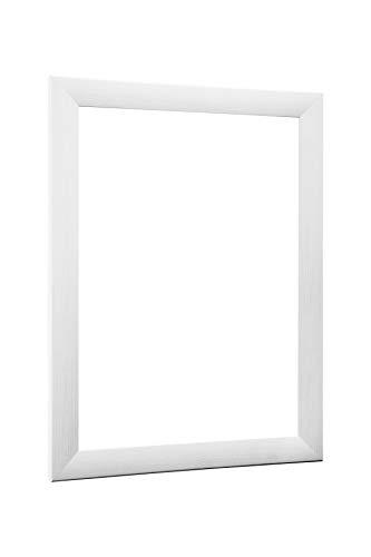NiRa35-Top Bilderrahmen 60x120 cm in Fichte Weis mit Antireflex-Acrylglas