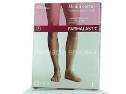 CINFA Farmalastic media corta normal beige t/reina