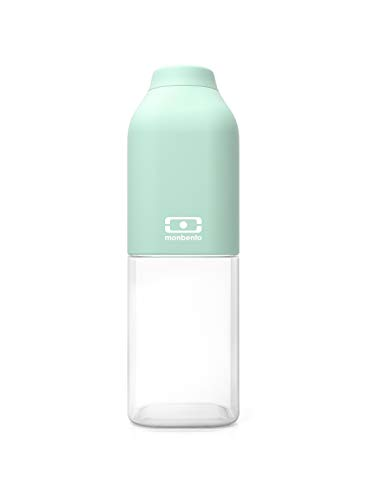 18f8df1e33dd Mon bento 101101055 Mb Positive M Nomad Bottle, Plastic, Matcha