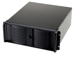Fantec TCG-4860KX07-1 Server Gehäuse (2X extern 8,9 cm (3,5 Zoll), 6X extern 5,25 Zoll, 2X intern 8,9 cm (3,5 Zoll), 2X USB 2.0) schwarz Aluminium-server