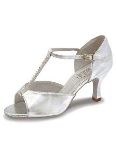 Roch Valley Yana Standard Latein Tanzschuhe für Damen Silber 6.5L (40) -