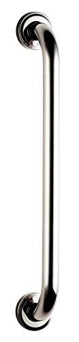 Bisk 04781 PRO Sicherheitshaltegriff 400 mm, 25 mm, 45.5 x 5.5 x 8 cm, Edelstahl Verchromt