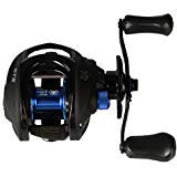 CastPlay Low Profile Reel With Stainless Steel Bearings Brass Gears Baitcasting Reel High