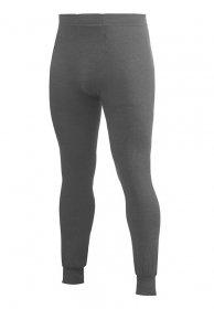 Wolle Long John (Woolpower Damen Herren Funktionshose Long Johns 200 , Farbe:grau, Größe:XS)