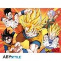 Abystyle Abysse Corp _ ABYDCO213Dragon Ball–Poster Dbz/Saiyans (52x 38)