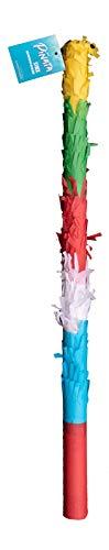 Goodtimes Pinata Zubehör Stock zum Schlagen, Bunt, 50cm lang, als Geschenkidee für Geburtstag, Hochzeit, Party