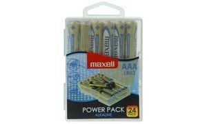 Maxell LR03 AAA Micro Alkaline Batterien (24er Pack)