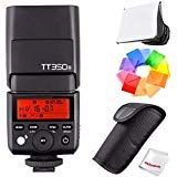 Godox TT350S 2.4G HSS 1/8000s TTL GN36 Wireless Speedlite Flash for Sony Mirrorless DSLR A7 A7R A7S A7-II A7-III A7R-II A7R-III A7S-II A6300 A6000