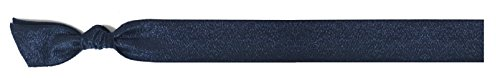 EMI JAY Headband Large Navy Satin