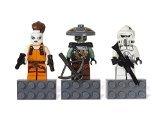 LEGO 853421 Star Wars Magnet Set: ARF Trooper, Embo and Aurra (Star Embo Wars)