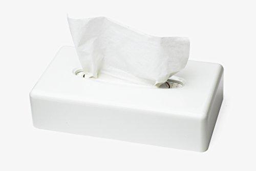 Tork 270023 Spender für Kosmetiktücher in Weiß / Tork F1 Spendersystem in zeitlosem Design für jeden Waschraum