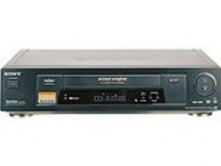 Sony SLV-SE 650 4 VHS Videorekorder schwarz