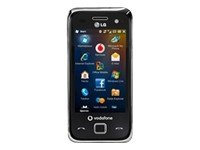 LG GM750 schwarz Handy mit Vodafone Branding