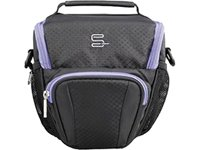 sumdex-xposure-ii-camera-cases-holster-hand-shoulder-strap-black-purple-polyester-159-x-165-x-102-mm