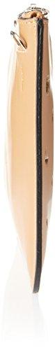 Chicca Borse Damen 1536 Schultertasche, 25x17x2 cm Marrone (Tan)