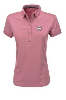 Pikeur Damen Funktions Polo Shirt Dasha, Foxglove, 36