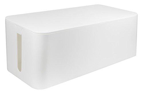 LogiLink Kabelbox, groß, weiß
