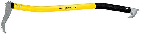 Ochsenkopf OX 172 A-0700 Alu-Handsappie 70 cm / Forst-Werkzeug für Holzarbeiten / Holz-Stapelhilfe zum Aufnehmen, Ziehen und Heben
