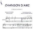 Partition : Chanson d'ami - Piano et paroles