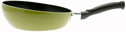 Kotobuki Multi-Use Non-Stick Stir Fry Pan, Green by Kotobuki Open Stir Fry Pan