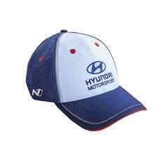 WRC Hyundai Motorsport Kinder Cap, World Rally Campioship Kids Kappe