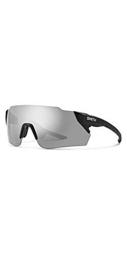 Smith ATTACK MAX XB ATTACK MAX XB 003 99 Rechteckig Sonnenbrille 99, MATT BLACK/SL SILVER