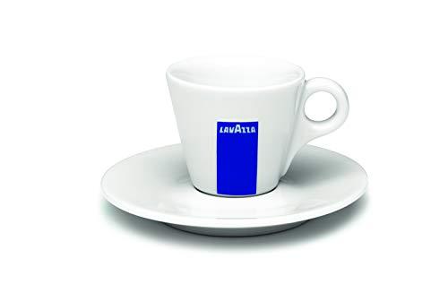 6 Lavazza Espressotassen mit Untertasse BLU Collection