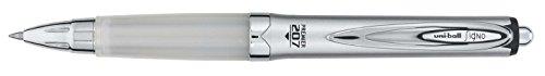 SIGNO 207 PREMIER penna gel fusto argento