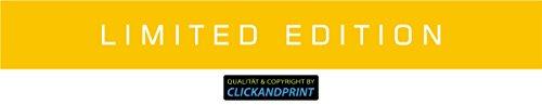 ber » Limited Edition Banner, 10x1,3cm, Gelb Reflektierend • Dekoaufkleber / Autoaufkleber / Sticker / Decal / Vinyl (Gelben Banner)