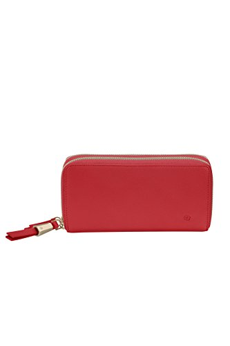 SAMSONITE Satiny SLG - Double Zip Around Large Kreditkartenhülle, 0 Liter, Scarlet Red -