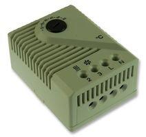 Stego 01170.0–00Modell FZK 011Mechanisches Thermostat, + 5bis + 60°C Temperatur-Regulierung, 67mm Höhe x Breite 50mm x 38mm Länge, 230VAC Test