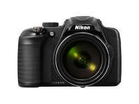 Nikon COOLPIX P600 Digital Camera - Black + Case and 16GB Memory Card (16.1 MP, 60x Optical Zoom) 3.0 inch Vari-angle LCD with Wi-Fi Nikon Digital Memory