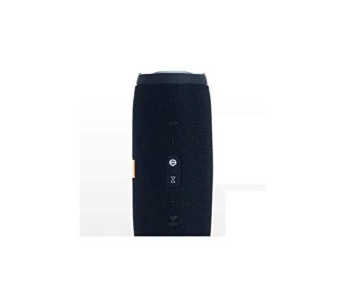 QWE Audio, Drahtloser Bluetooth-Lautsprecher, Tragbare Dual-Membran-Ipx7-Außenmembran, Wasserdicht, Integriertes Mikrofon Zur Geräuschreduzierung,Schwarz,A