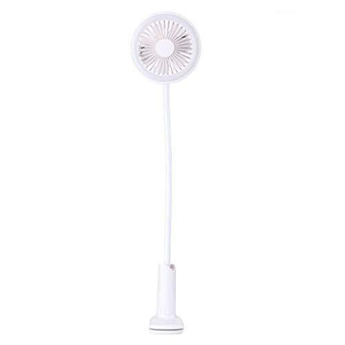Faul Halterung Kinderwagen Kinder USB wiederaufladbare Mini dusche Clip Fan Bett led nachtlicht -