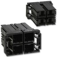 HOUSING, RECEPTACLE, D-5200M, 4WAY 917807-2 By TE CONNECTIVITY for sale  Delivered anywhere in UK