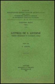 Lettres De S. Antoine. Version Georgienne Et Fragments Coptes. Iber. 5. par G Garitte
