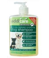 Addicare Anti-Bacterial Medicated,Conditioning Dog Shampoo 500ml by Addicare