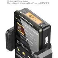 SANOXY émetteur FM stéréo Universel Micromini avec Micro et Un câble Mini USB Noir