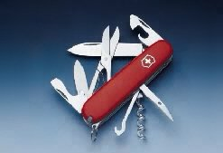 Victorinox Offiziers-Messer Schweizer-Messer Das Original 14 Funktionen