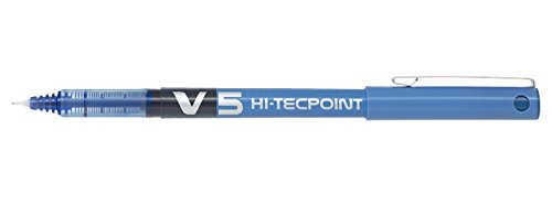 pilot-v5-hi-tecpoint-tintenroller-nadelspitze-flussigtinte-12-stuck-blau