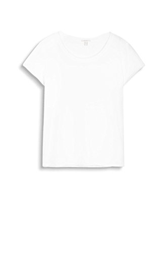 Esprit 047ee1k023, T-Shirt Femme Blanc (Off White)
